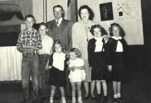 Doyle B. Pitts family