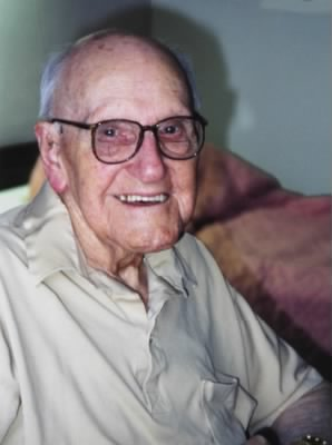 Clayton Batchelor on his 100th Birthday