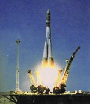 Launch of Vostok 1