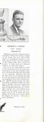 George Conley bio in The Helm 1938