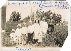 Julian & Francis Steunenberg & Children