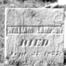 William Lampson Gravestone