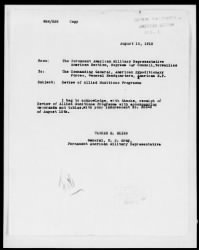 Correspondence and reports relating to the Allied Munitions Program › Page 40 - Fold3.com