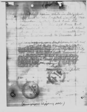 Mrs. Campbell Letter May 4, 1945  Page 2