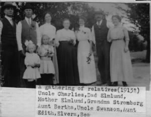 A Gathering of Relatives circa 1913