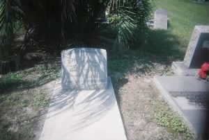 William H Parnell Headstone