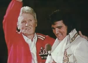 Vernon and Elvis Presley