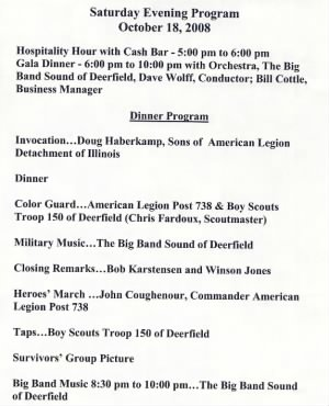 2008 451st Bomb Group Reunion Program - Page 4