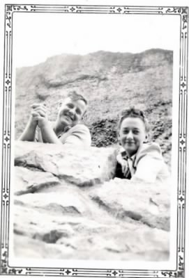 George & Mary on rocks.jpg