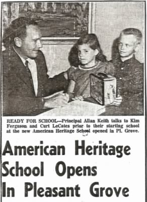 Allan - First principal of American Heritage School