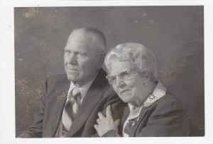 Great Granndma & Grandpa Jorgensen