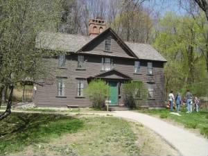 Louisa May Alcott's home