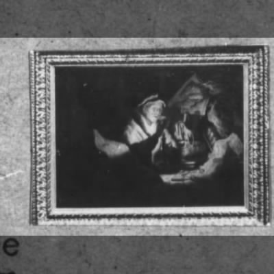 "Rembrandt's ""Money Changer"" catalogued  among the Nazi's stolen art."