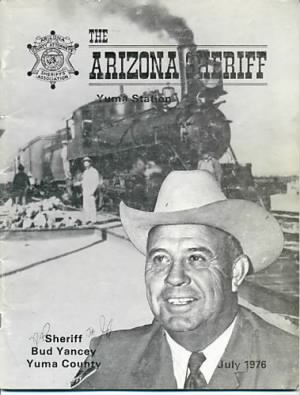 "Travis ""BUD"" Yancey, Yuma Co Sheriff"