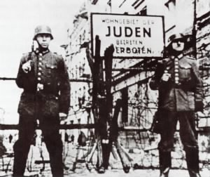Residence For Jews Entrance Forbidden a Ghetto Sign.jpg