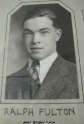 Lt Ralph Wrigley Fulton (1937, Yearbook)
