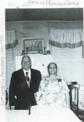 Carmine (Charles) and Rose Cozza