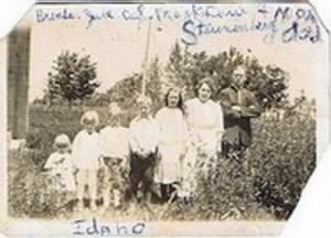 The family of Julian and Frances Steunenberg