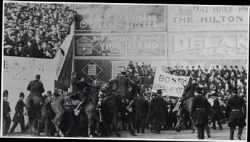 Mounted police battle Boston Royal Rooters during 1912 World Series › Page 1 - Fold3.com