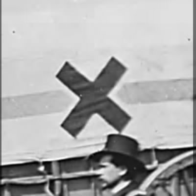 The Greek cross was the insignia of the 6th Corps.