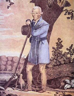 Col Daniel Boone Engraving by James Otto Lewis - Fold3.com