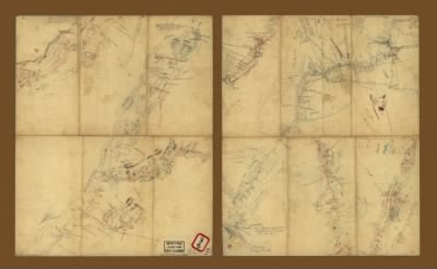 [Sketches of roads in the Shenandoah Valley between Winchester and Woodstock, Virginia]. › Page 1 - Fold3.com