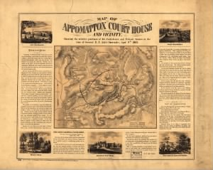 Fold3 Image - Map of Appomattox Court House