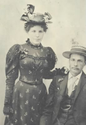 Frank Chalberg and Augusta Tubin 1895
