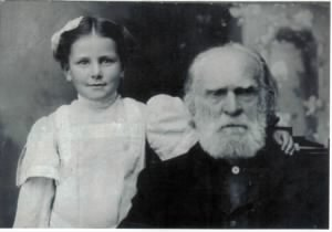 Ida Alice Johnson, John, her father