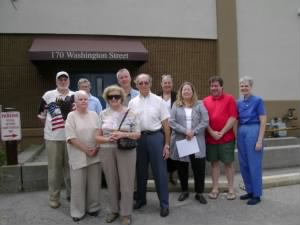 Local Dutchess County Historians at 170 Washington Street - Sept. 2009