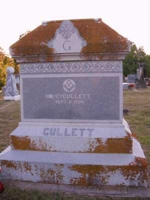 Monument to N. C. Gullett - Fold3.com