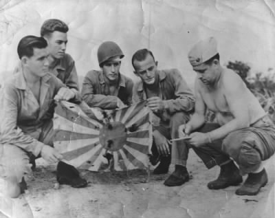 Captured a Flag on Tinian