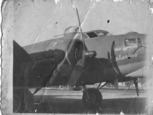"The B-17 ""Catherine, The GREAT""  Les Hansen's Ship."