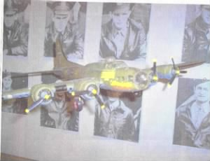 """""""Ole Kate"""" [Our LADY] """"B-17 Catherine the Great"""" Les was severely injured in."""