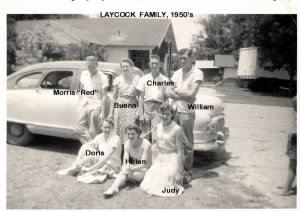 Laycock Family Picture, 1955