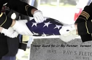 2010 Honor Guard for Ray Fletcher