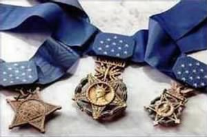 Ed earned the Medal of Honor