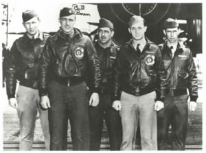 Command Pilot Bill Bower and his Raidres CREW - Named.