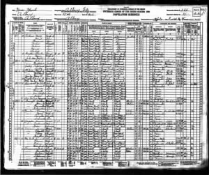 FDR 1930 Federal Census