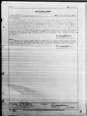 """War Diary, 9/1-30/43 (Act Rep, """"AVALANCHE"""") › Page 19 - Fold3.com"""