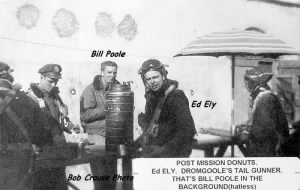 310thBG,379thBS, Corsica / Lt Bill Poole and Ed Ely, GUNNER B-25