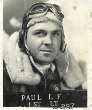 WWII Lt Leo F Paul, Fighter Pilot in the Pacific