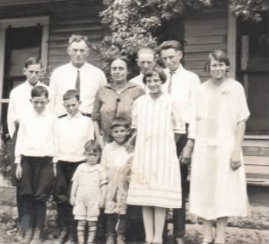 Herman Joseph Pennartz and Theresia Woerner Pennartz Family