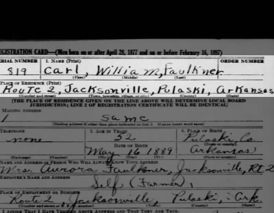 possible grandfather registration card