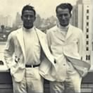1946, Cornell Medical College roomates, George Knauer & Fred Haffner