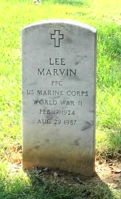 Lee Marvin's Headstone