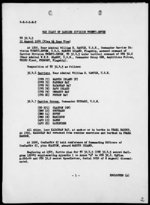 War Diary, 8/11/44 to 8/31/44 › Page 2 - Fold3.com
