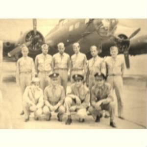 Joe D. Freeland Jr & B-17 Crew