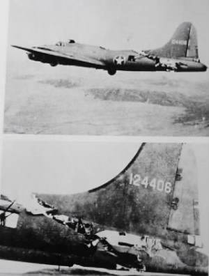 #41-24406 was one STURDY and faithful B-17.  All survived. 1 Feb. 1943