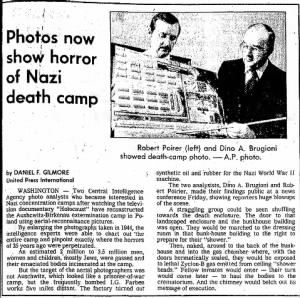 Feb. 1979 Seattle Times Article by Dino Brugioni